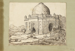 Mosque, Sonepat. 23 October 1829